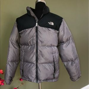 The North Face - Two-Tone Quilted Puffer Jacket